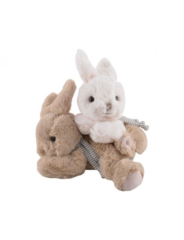 Baltas Minkštas žaislas COCO  15 cm