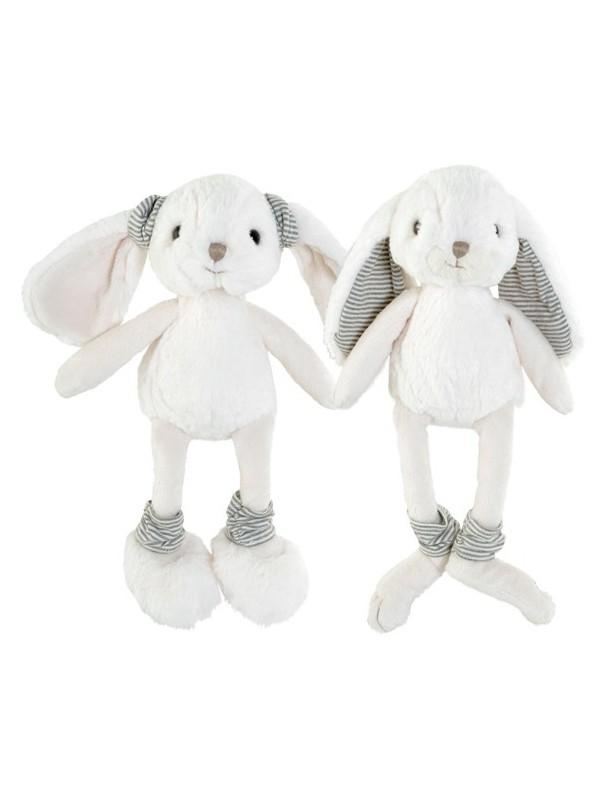 Baltomis ausytėmis minkštas žaislas DAISY 25 cm