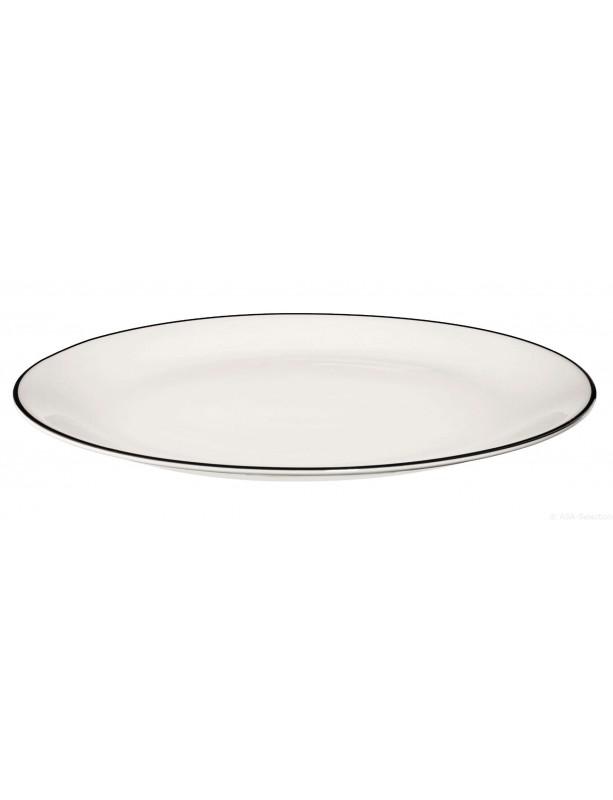 Lėkštė A TABLE BLACK LINE 21 cm