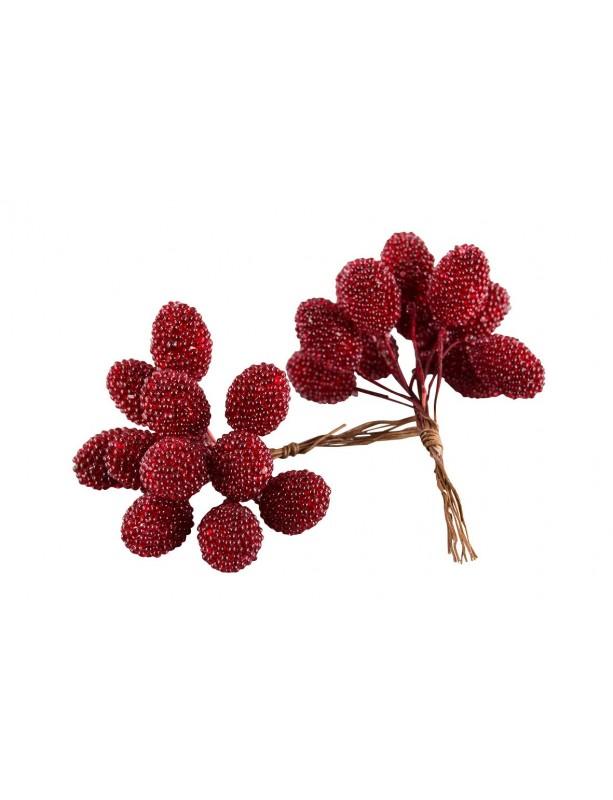 Dekoratyvinė puokštelė Blackberry Red