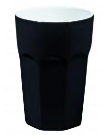 Juodas latte puodelis ASA...