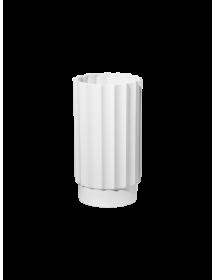 Balta vaza ASA ART DECO, 24 cm