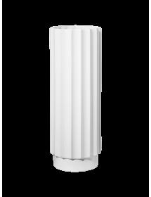 Balta vaza ASA ART DECO, 40cm