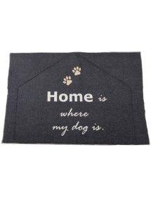 Pilkas kilimėlis šuniui...